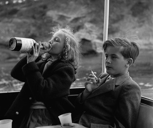 drinking, vintage, and goals image