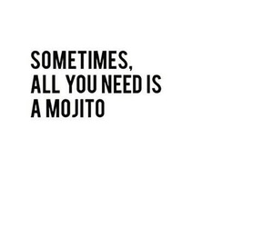 quotes, mojito, and drink image