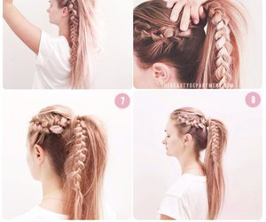 braids, hair, and tutorials image