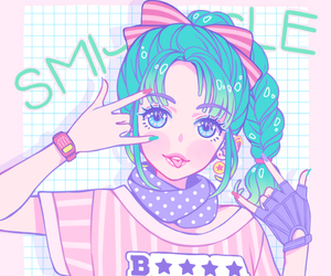 pastel, anime, and art image