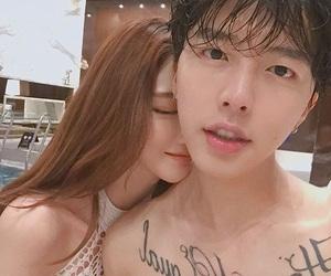 asian, couple, and kfashion image