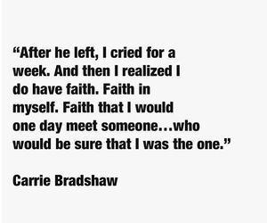 quote and Carrie Bradshaw image