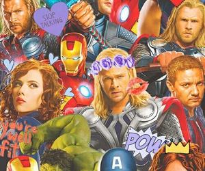 Marvel, Hulk, and Avengers image