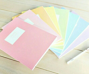 pastel, school, and pink image