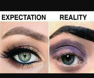 eyes, makeup, and true image