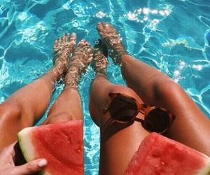 beach, best friends, and besties image