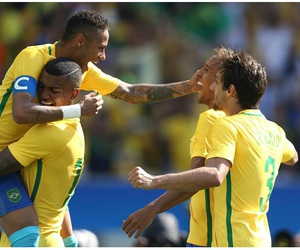 brazil, craques, and nationalteam image