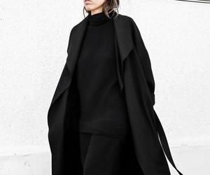 black, fashion, and minimalist image