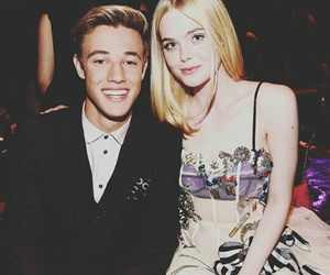 Elle Fanning and cameron dallas image