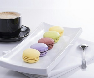breakfast, coffee, and colours image