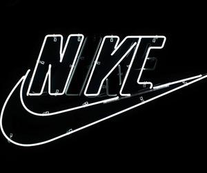 nike, black, and grunge image