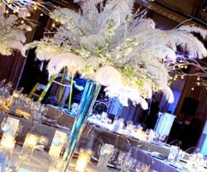 centerpiece, reception, and wedding image