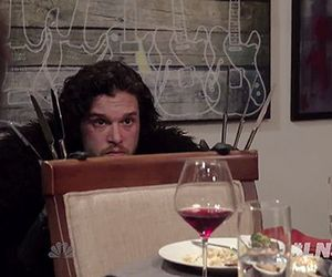 dinner party, game of thrones, and jon snow image