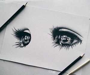 eyes, art, and beautiful image