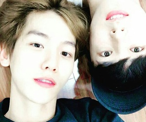 exo, baekhyun, and kasper image