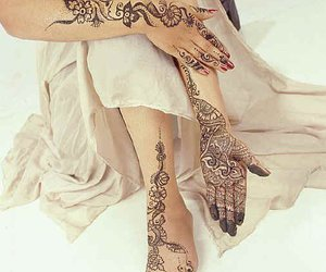 tatto, bride tatto, and رسم حنة image
