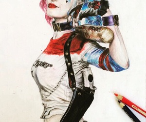 art, drawing, and suicide squad image