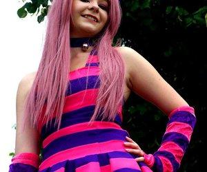 cheshire, deviantart, and cosplay image