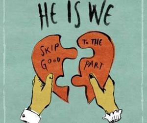 he is we