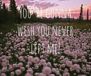clouds, flowers, and Lyrics image