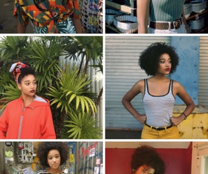 feminist, hair, and outfits image