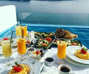 breakfast, healthy, and paradise image