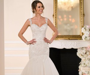 couples, wedding, and beautiful dresses image