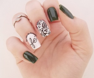 nailpolish, nails, and unhas image