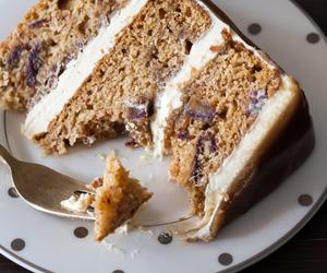 cake, pudding, and food image