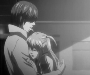 couple and death note image