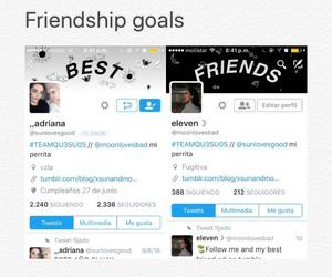 friendship, goals, and grunge image