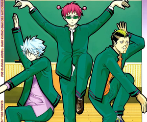 anime, manga, and saiki kusuo no psi nan image