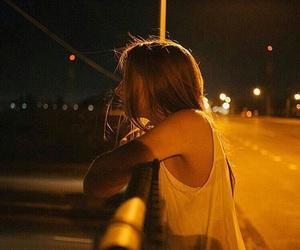 alone, Noche, and fotografía image