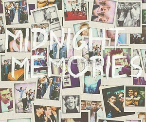 one direction, midnight memories, and 1d image