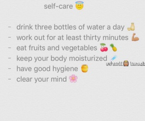 quote and self care image