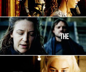 game of thrones, queens, and sansa stark image