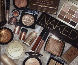 beauty, cosmetics, and eyeshadow image