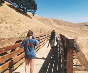 adventure, best friends, and hike image