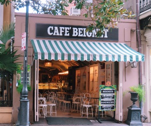 beignet, coffee shop, and cafe image