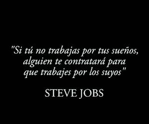 Steve Jobs, sueños, and trabajar image