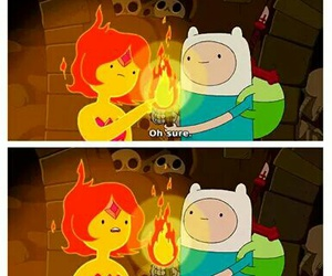 adventure time, finn, and funny image