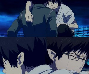 anime, Collage, and ao no exorcist image