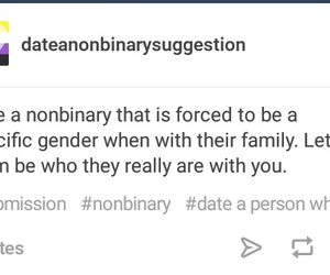 date, gender, and lgbtq image