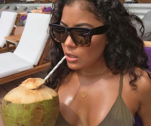 coconut and sunglasses image