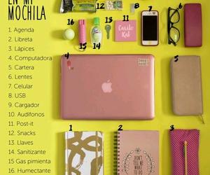 agenda, regreso a clases, and colores image