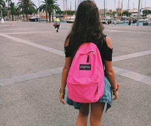 bag, pink, and adidas image
