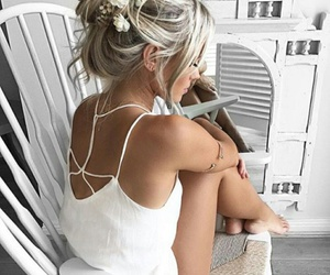 beautiful, hairstyle, and beauty image