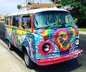 beautiful, hippie, and love image