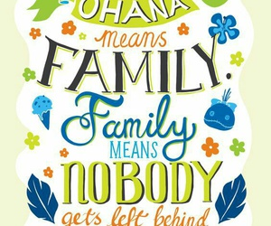 disney, ohana, and wallpaper image