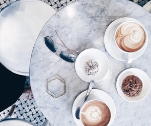 coffee, blue, and tumblr image